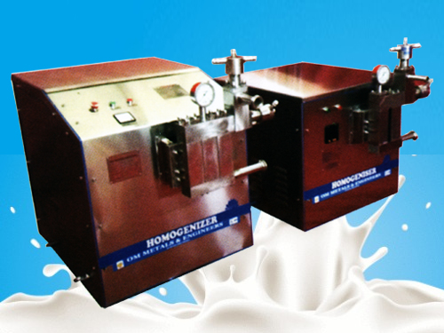 Milk Homogenizers